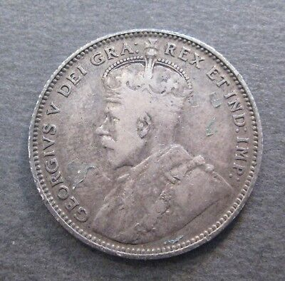 1912 Newfoundland 20 Cents  - * Silver * - (P607)