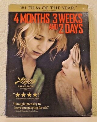 4 Months, 3 Weeks and 2 Days (DVD, 2008) BRAND NEW>FREE SHIPPING!