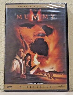The Mummy (DVD, 1999, Collectors Edition) BRAND NEW>FREE SHIPPING!