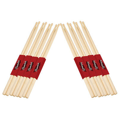 8 Pairs New 5A Practical Music Band Drum Sticks Maple Wood Drumsticks