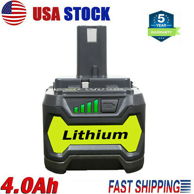 18V for P108 RYOBI ONE PLUS Li-ion High Capacity Battery P104 P105 P106 P107 4Ah