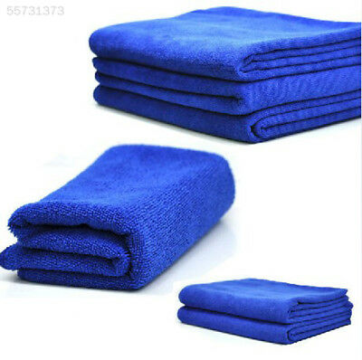 957E 6PCS Microfiber Towel For Car Motorcycle Cleaning Washing Cloth 30X30cm Sof