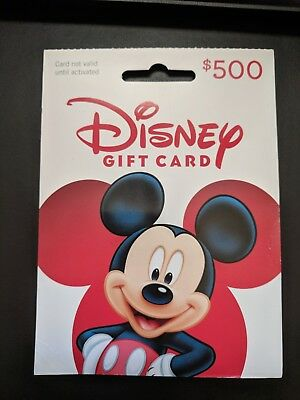$500 Disney Gift Card Disneyland Disney World Disney Cruise