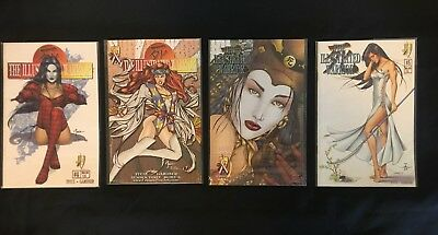 THE ILLUSTRATED WARRIOR tucci gardener #2 #3 #4 #5 excellent condition
