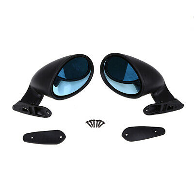 Automotive Universal Side Mirrors X2 Rod Rat Rod Muscle Car California Classic Style Car & Truck Parts NEW