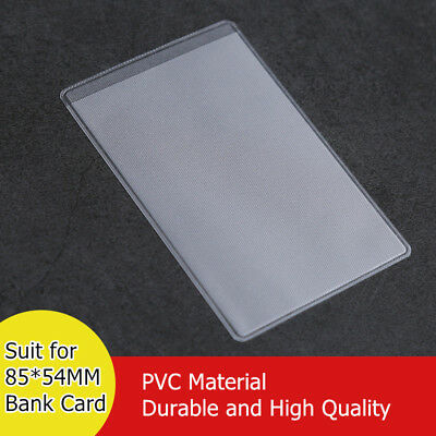 PVC Protective Sleeves for NFC Card Bank Card ID Card 85MM*54MM 10-Pack