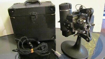 Beautiful Antique Bell & Howell Standard Cinemachinery Movie Projector -Working!