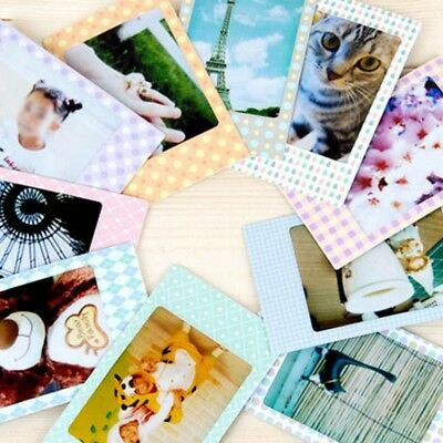 100x Polaroid Films Photo Stickers For Pola09 Instax Mini Instant 8 7S 25 50S
