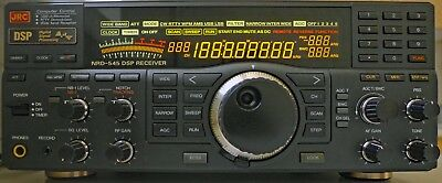 JRC NRD-545 DSP HF Communications Receiver (with pro battery and antenna mods)