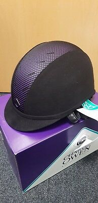 Charles Owen Ayr8 Black And Purple 100 Years Limited Edition