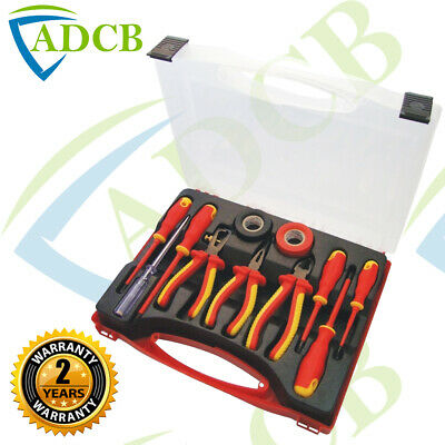 S9Q1 - 11 Piece Electrician Tool Set Case 1000Vac & 1500Vdc Insulated En60900
