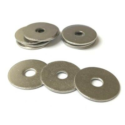 Repair Penny Mudguard Washers A4 Stainless Steel Marine Grade M5 M6 M8 M10 M12