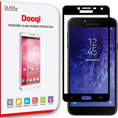 Dooqi For Samsung Galaxy J4 2018 Full Cover Tempered Glass Screen Protector