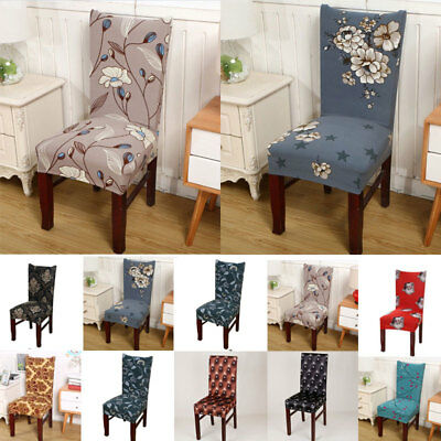 Stretch Spandex Dining Room Wedding Banquet Decor Chair Cover Slipcover