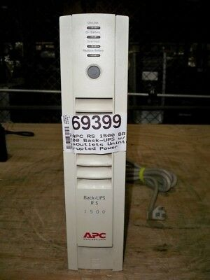 APC RS 1500 BR1500G Back-UPS w/8 Outlets/Battery