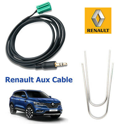 RENAULT Clio Megane Scenic iPod iPhone MP3 Auxiliaire Aux In Interface Câble