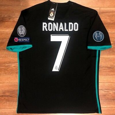 reputable site 99eed 3df46 sale champions league jersey real madrid 5be26 327a3