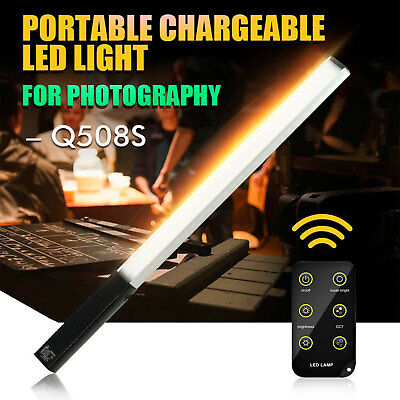 Handheld LED Studio Video Ice Light Dimmable Photography Light For Film Shooting