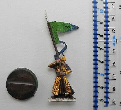 HIGH ELF STANDARD BANNER BEARER Metal Lord of the Rings Good Elves Army 5
