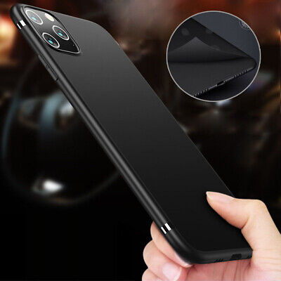 For iPhone 11 Pro Max Xr XS Max Luxury Ultra-thin Slim Back Soft TPU Case Cover