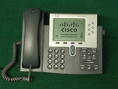 Cisco IP Business Display Phone 7961 VOIP 6-Button CP-7961G (CP7961G)