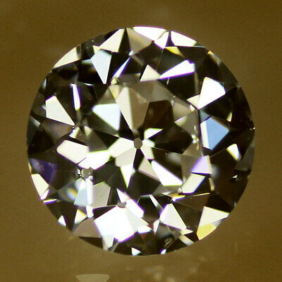 Old European Cut Loose Cubic Zirconia Gemstone CZ - Size and Colour Choice