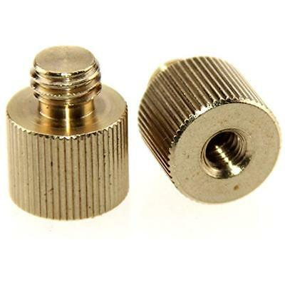 CAMVATE 2 Pack 1 4 20 Female Threaded Adapter To 3 8 16 Male Threaded Post New G