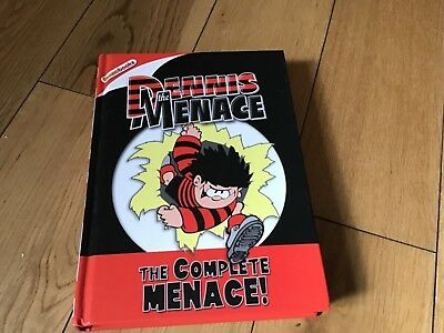 denns the menace book the complete menace collectors item good condition