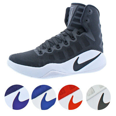 low priced f19ba f362f Nike Hyperdunk 2016 Women s Mesh Lace-Up Zoom Mid-top Basketball Trainer  Shoes
