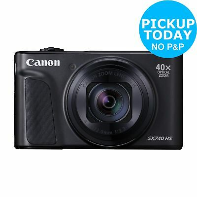 Canon PowerShot SX740 HS 20.3MP 40x Zoom Camera - Black.