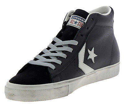 converse pro leather donna nere