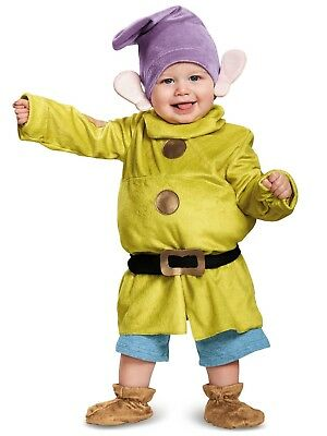 Disney Baby Dopey Infant Costume Snow White and the Seven Dwarfs Halloween Fancy