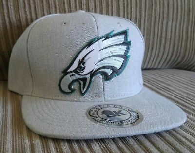 375d826f Philadelphia Eagles Hat Flat Bill Gray Snapback Hat The Bird's Logo! GO  BIRDS!