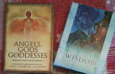 Angels, Gods, Goddesses and Universal Wisdom oracle cards-Toni Carmine Salerno