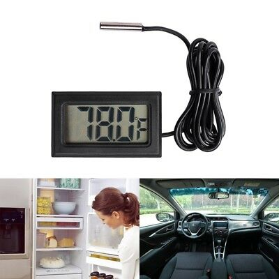 NEW Digital LCD Thermometer Temperature Gauge Probe Sensor -50°C TO +110°C H7V1