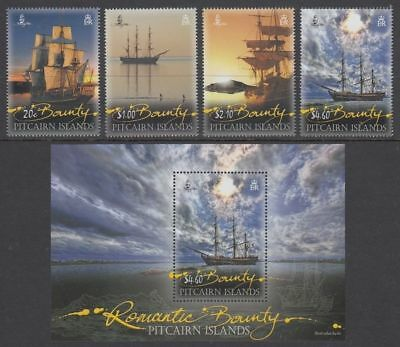 Pitcairn Islands 2012 Complete Year Commemorative Stamps Mnh