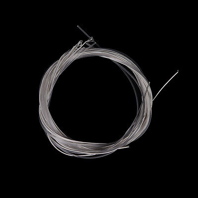6pcs Guitar Strings Nylon Silver Plating Set Super Light for Acoustic Guitar XS