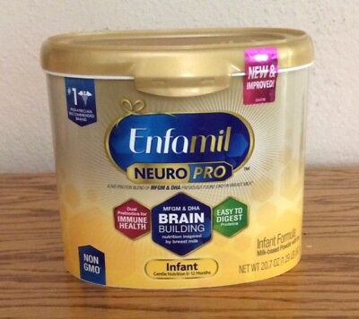 (5) Tubs of Enfamil NEURO PRO Formula 0 to 12 Months - EXPIRES 05/2019 and Later