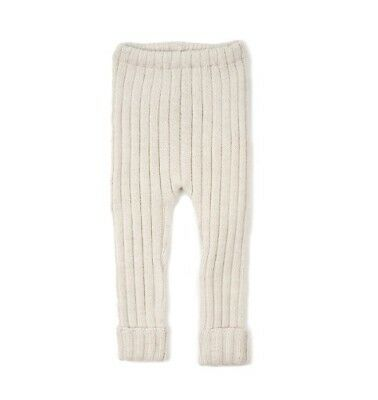 NWT Oeuf everyday pants 100% baby alpaca size 6 months, beige