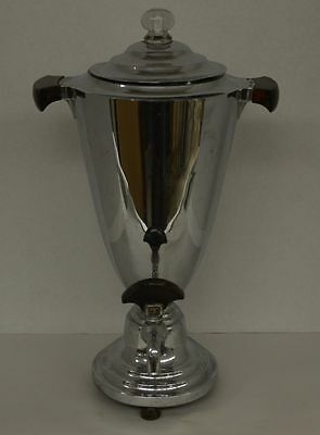 Vintage Manning and Bowman Art Deco Coffee Urn