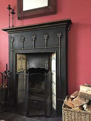 Victorian Fireplace Surround with Tiled Insert