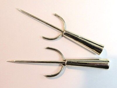 Vintage Pedro Castillo - Set Of 2 Sterling Silver Relish Forks