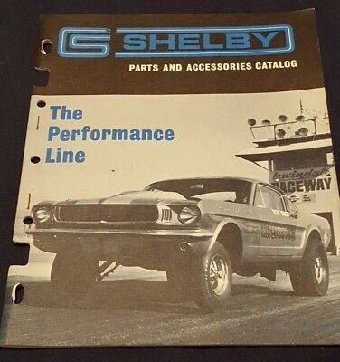 NOS Shelby Parts & Accessories Catalog Performance Line March 1967 Price Guide