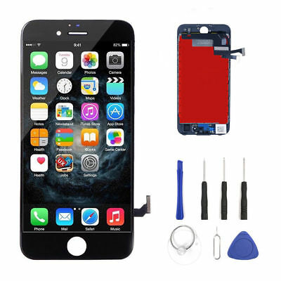 Genuine OEM Original iPhone 7 Black Replacement LCD Screen Digitizer Assembly