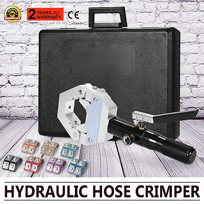 71500 Hydraulic Hose Crimper Tool Kit Operate Mounting Crimping Set Hose Fitting
