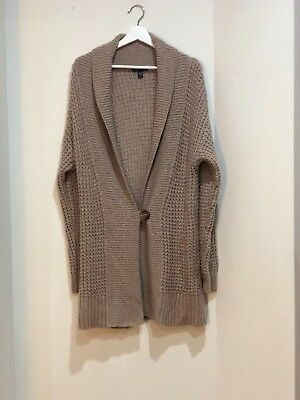 30d345ef7 MADEWELL DONEGAL KENT Boyfriend Cardigan Womens Large Open Front ...