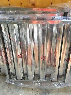 "20"" x 20"" x 2"" Stainless Steel Hood Grease Commercial Exhaust Filter"