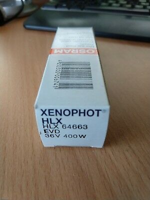 Osram Xenophot Halogen Lamp Bulb, HLX 64663 EVD 400w 36v Free Post Local Aust
