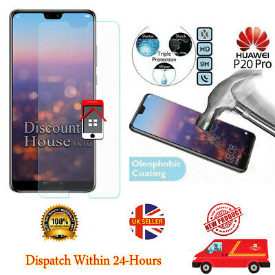 Hauwei P20 Pro Genuine Temper Glass Screen Protector for Hauwei P20 Pro