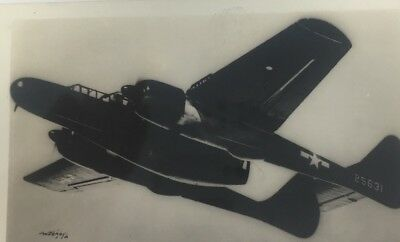 WWII US P-61 Black Widow Night Fighter Plane Postcard Military Aviation Aircraft